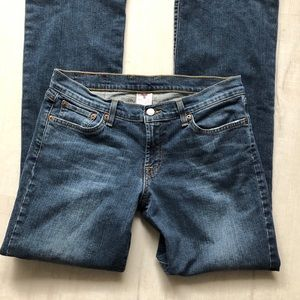 Lucky Brand  Midrise Flare